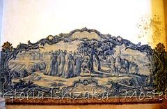 Glória Ishizaka - Mosteiro de Alcobaça - 2012 - Sala dos Reis - azulejo 2