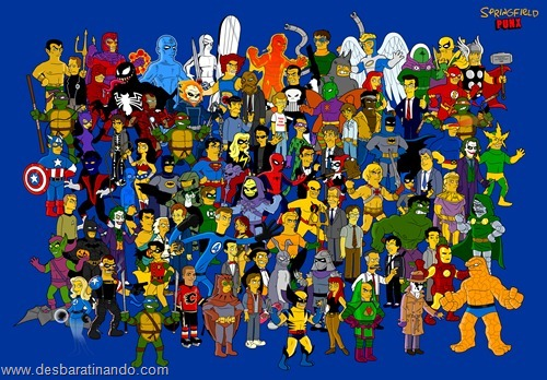 wallpapers os simpsons desbaratinando papel de parede the simpsons  (47)