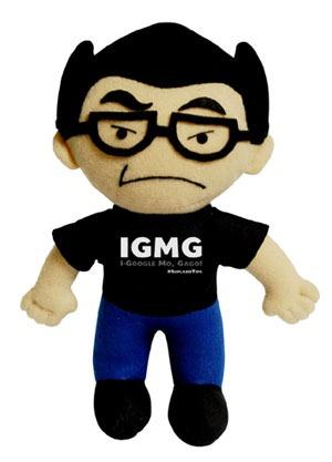 IGMG plush doll