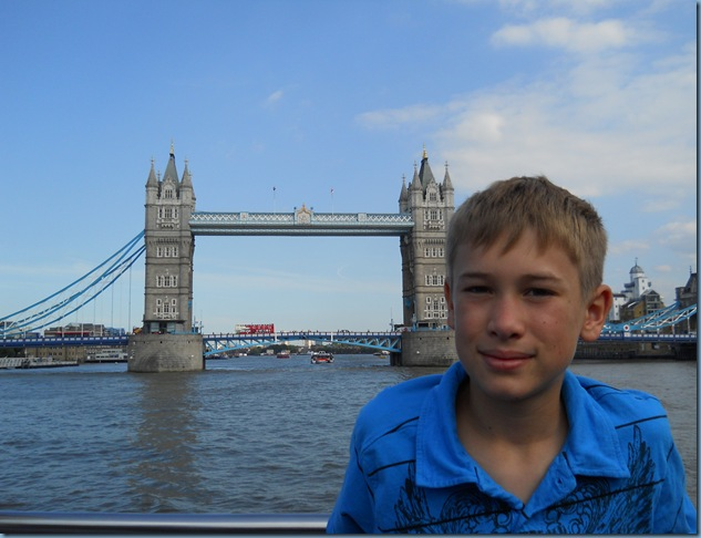 tower bridge with hayes