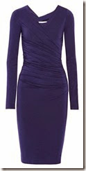Diane von Furstenberg Bentley Ruched Jersey Dress