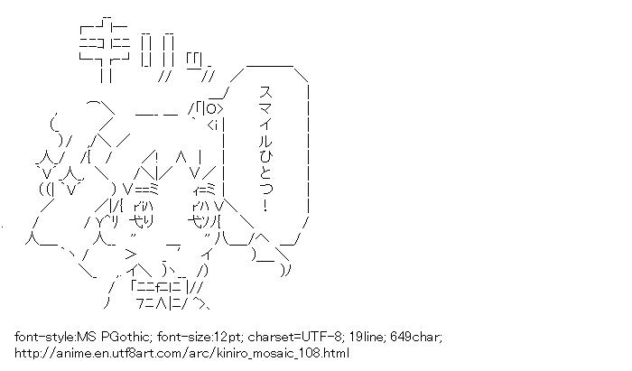 Kiniro Mosaic,Cartalet Alice,Kiri