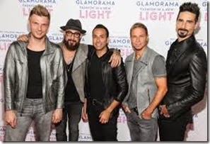 Recital Backstreet boys en BS AS autografos