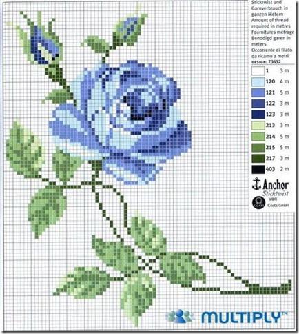 Ponto Cruz-Cross Stitch-Punto Cruz-esquemas-motivos-706