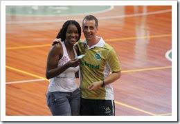 Ana Paula Graciano Fernandes e Vita Haddad - Arremesso Dourado Clarian Seguros - Foto Zaramelo Jr. Zara