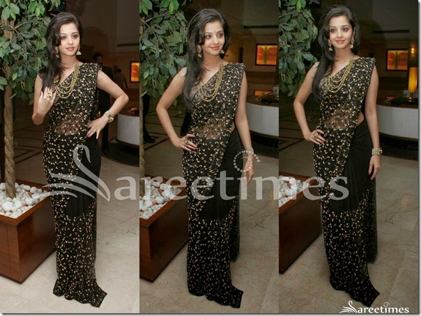Vedika_Black_Embroidery_Saree