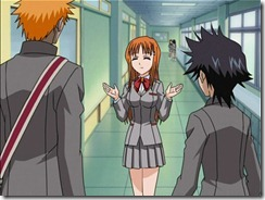 Bleach2 Orihime Flustered