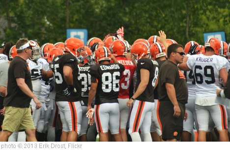 'Cleveland Browns Training Camp 2013' photo (c) 2013, Erik Drost - license: http://creativecommons.org/licenses/by/2.0/