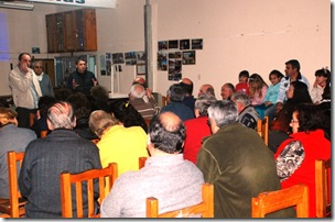 Se realizó la primera charla informativa en Las Toninas