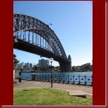 The Sydney Harbour Bridge from Dawes Point Park_t