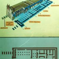 28.- Planta y alzado de templo