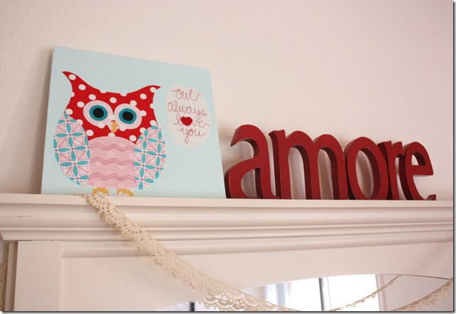 Owl ALways Love You Canvas amore