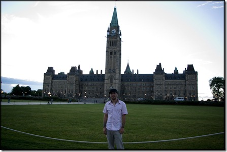 Me In Front Of Parliament