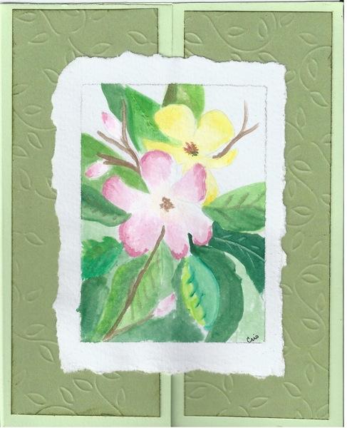 Flower card 1 13 13