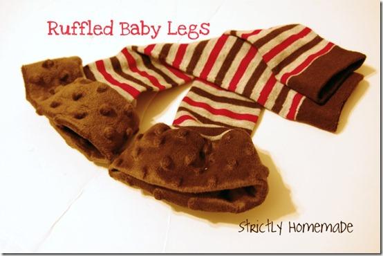 Ruffled Baby Legs