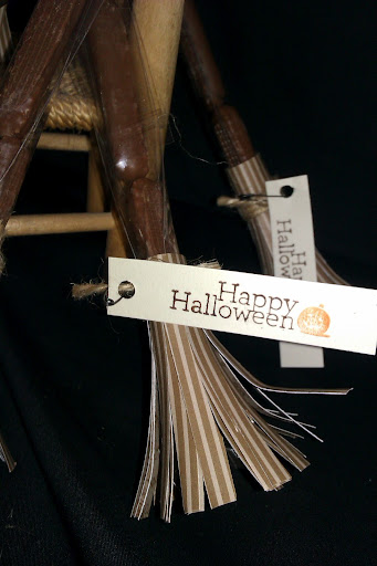 Stampin up Halloween treats