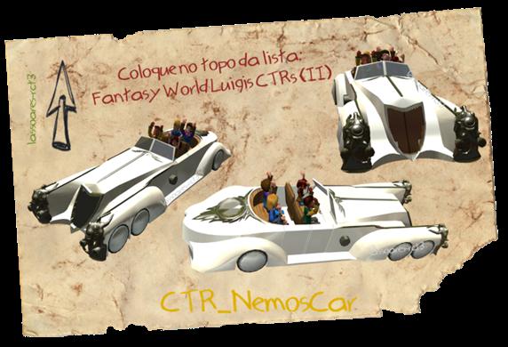 Fantasy World Luigis CTRs (CTR_NemosCar) lassoares-rct3