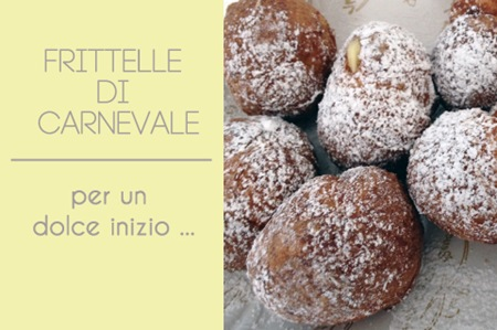 SemplicementePerfetto Frittelle carnevale