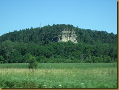 2011-7-26 rock formations on way to Albert Lea MN (2)
