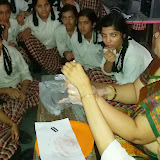 Visual Learning @ Santosh Nagar Girls Branch