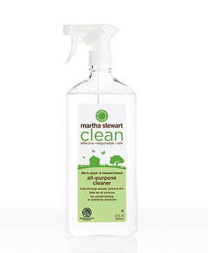 I use the all-purpose cleaner for all my hard surfaces in the apartment.
