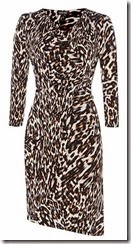 Episode Leo Print Wrap Dress