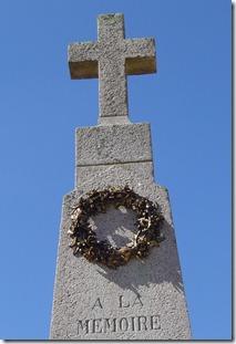Le monument aux morts (détail)