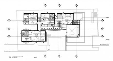 Planos y elevaciones recomendados casa f arquitexs for Fotos de casas modernas de un nivel