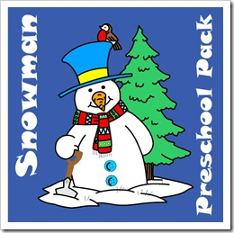 snowman preschool pack blog