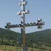 Спомен крст, детаљ. Овај крст је подигнут уз помоћ народа Републике Српске, који је у телефонској хуманитарној акцији донирао преко 6.500 КМ за овај крст. Хвала им!