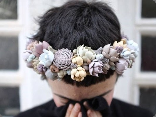 Botanical brouhaha flowers for your head - Flowers by bornay ...