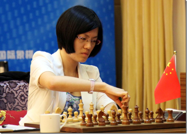 GM Hou Yifan, China