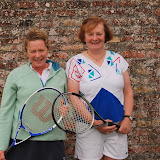 Ladies B Singles FinalAnn Longworth v Joan Grennan (w)