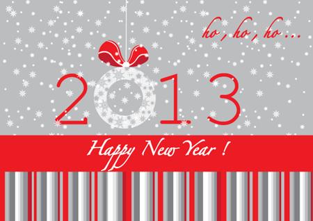 вектор 2013 новый год