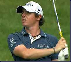 rory first round close up