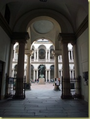 P B entrance