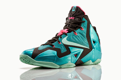 nike lebron 11 gr south beach 4 01 NIKE LEBRON 11 South Beach Remixes Past With Present