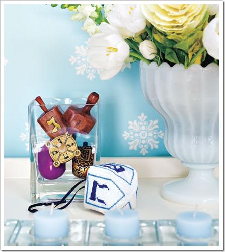 hannukah-dreidle style at home