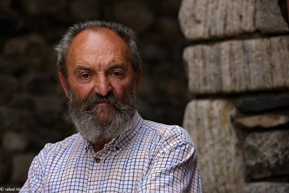 Joan Gil Gil -Joanito del Sastre- pastor i antic guarda del Parc Nacional d'Aiguestortes i Estany de Sant Maurici. Pirineus.Boi, Alta Ribagorca, Lleida.