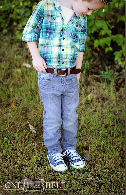 Plaid, skinny jeans and Converse