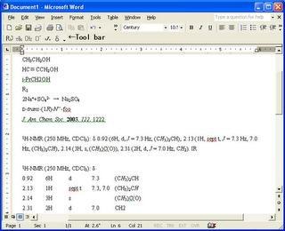 ChemFormatter - Complemento para representar formulas químicas en office