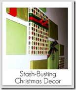 stashbusting christmas decor