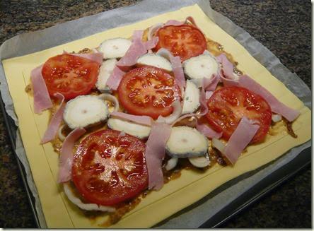 tomato, ham and goat's cheese tart2