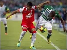 Independiente Santa Fe vs Atlético Nacional ,