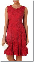 Phase Eight Red Tapework Dress