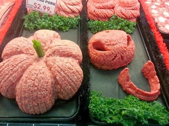 Esculturas de carne Halloween 06
