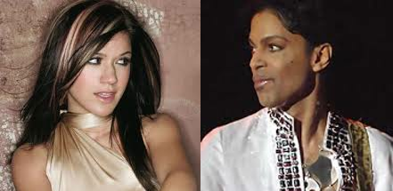 Kelly Clarkson and Prince