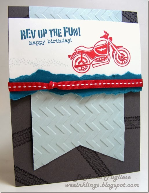 WeeInklings LeAnne Pugliese ColourQ224 Rev Up the Fun Stampin Up
