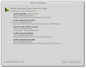 MintDrivers in Linux Mint 15 Olivia