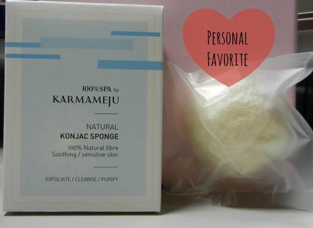 100% Spa by Karmameju Konjac Sponge Natural
